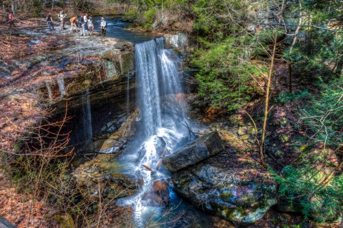 2. Laurel Falls - 2.6 miles