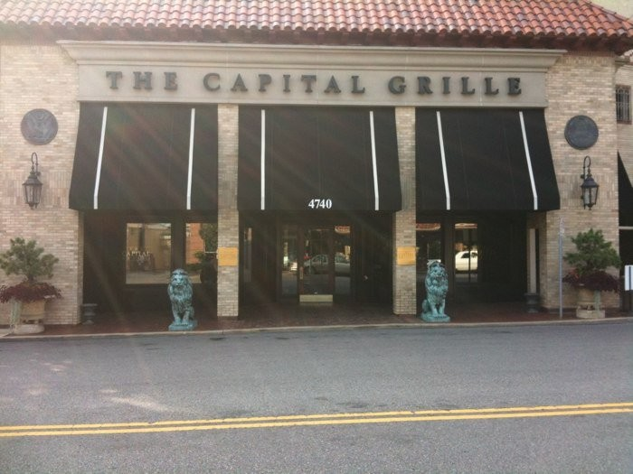 2.Highest rated restaurant in Kansas City:  The Capital Grille