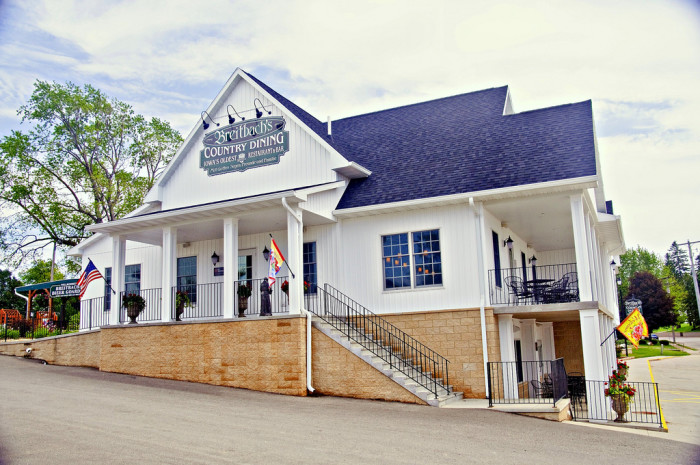 19. Grab brunch at Iowa's oldest restaurant - Breitbach's Country Dining in Balltown.
