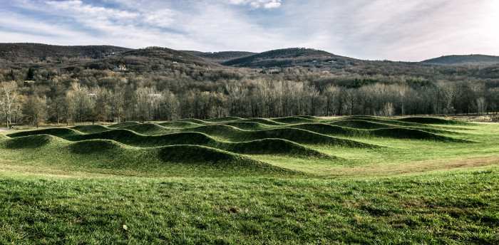 8. Maya Lin's remarkable Wavefield is one truly unique sight you can experience at the Storm King Art Center in New Windsor.