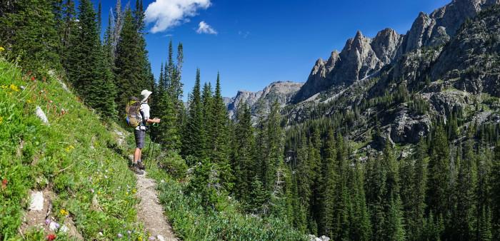 2. Glacier Trail, Wyoming
