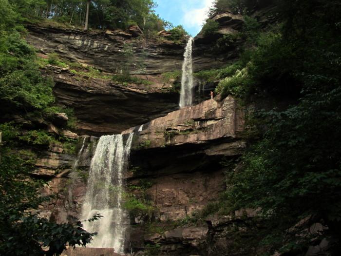8. Kaaterskill Falls, Hunter