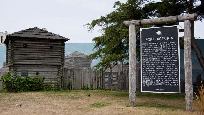 2. Fort Astoria (AKA Fort George)