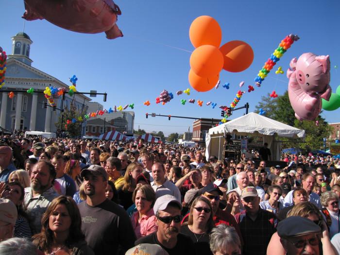 1. Lexington BBQ Festival, October