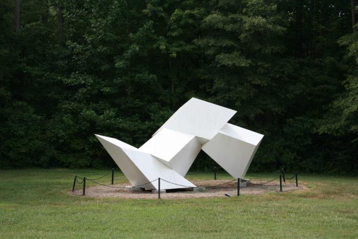 ...Or at the quirky Annemarie Sculpture Garden & Art Center.
