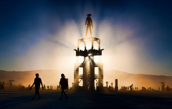 5. Exciting events are always going on in Nevada, including the one and only Burning Man (pictured).