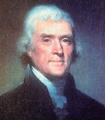 2. Thomas Jefferson frequented the town.
