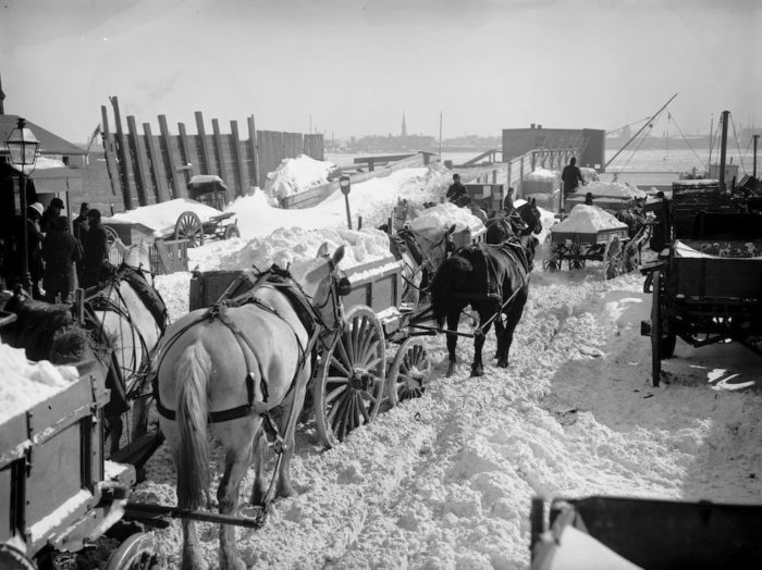 2. The Great Blizzard of 1888