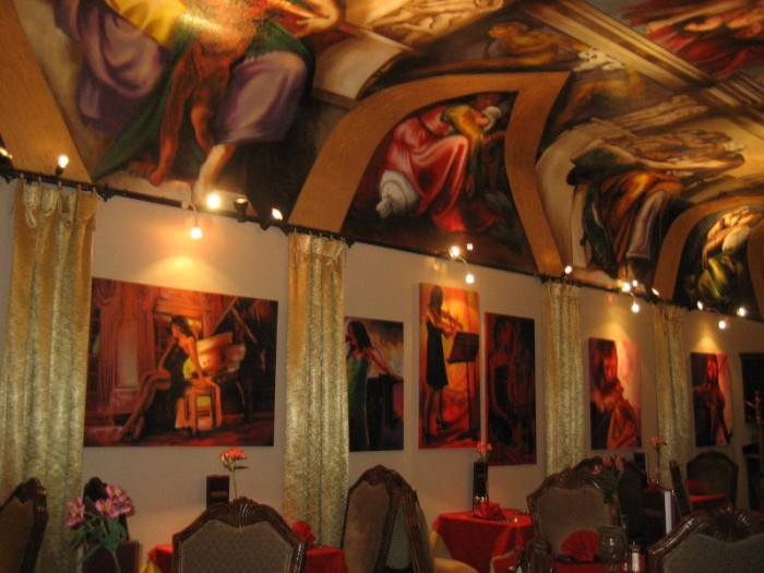 21. Admire the Sistine Chapel recreated in spray paint at Galleria de Paco in Waterloo.