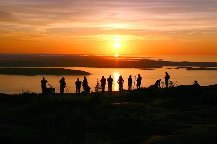 8. Maine is #1 in sunrises.