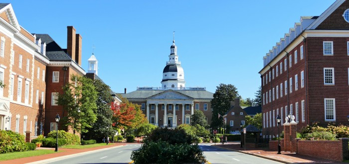 6. The Maryland State House would perfectly set the scene for a political drama.