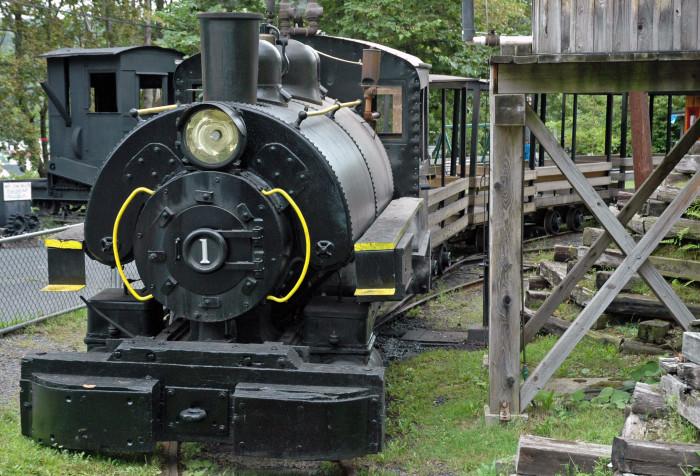 7. Pioneer Tunnel Coal Mine & Steam Train
