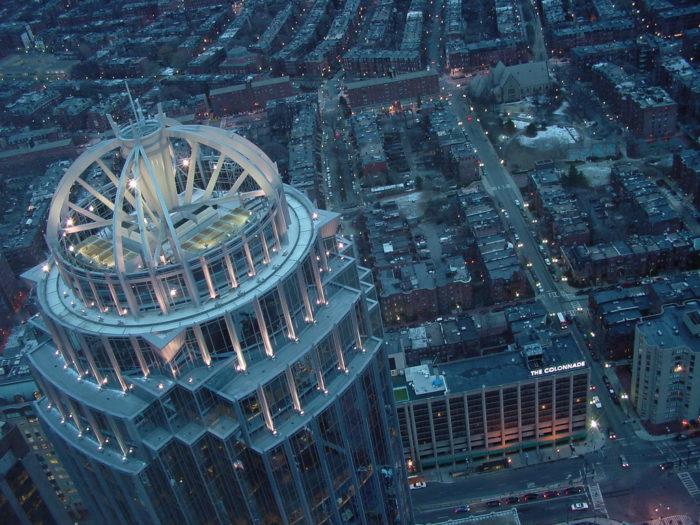4. Top of the Hub, Boston
