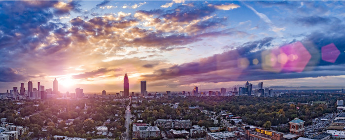 3. A tourist hears you are from Georgia and asks what it's like to live in Atlanta.