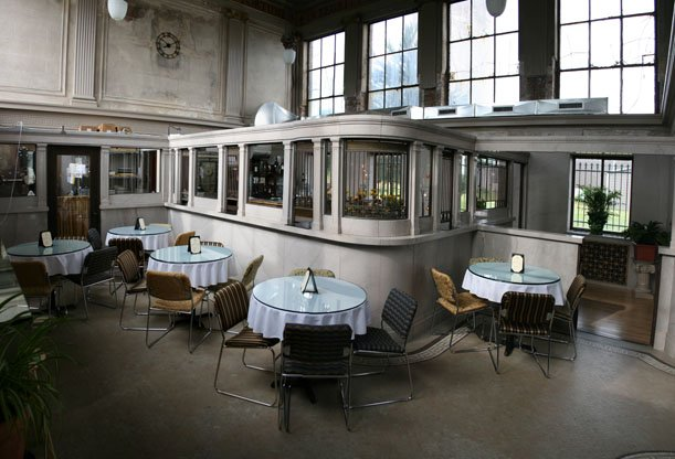 22. Enjoy lunch in a gorgeous old bank building at the Ladora Bank Bistro in Ladora.
