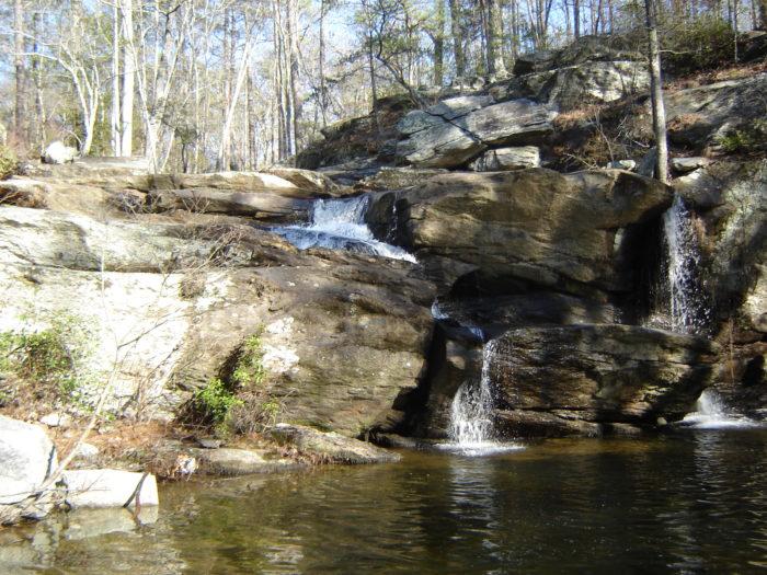 1. Cheaha Falls