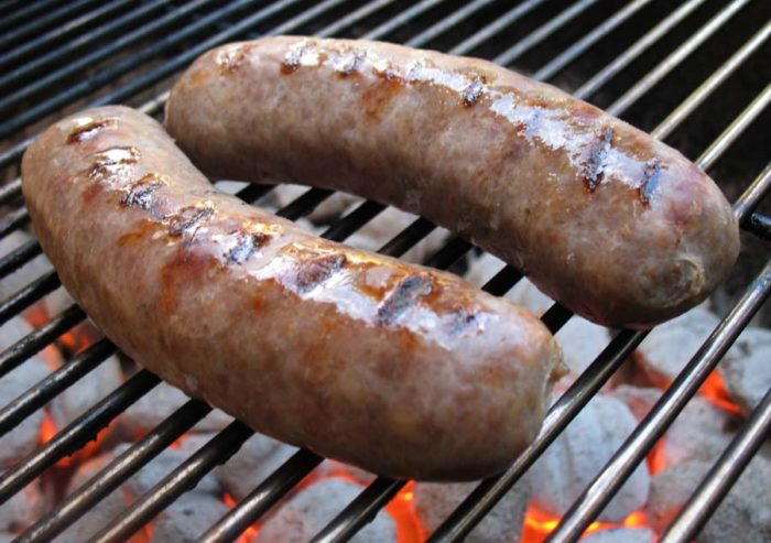 1. Have a BYOB BBQ. Bring your own beer and brats!