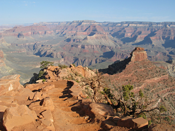 3. The first Europeans to encounter the Grand Canyon never made it all the way down to the canyon floor.