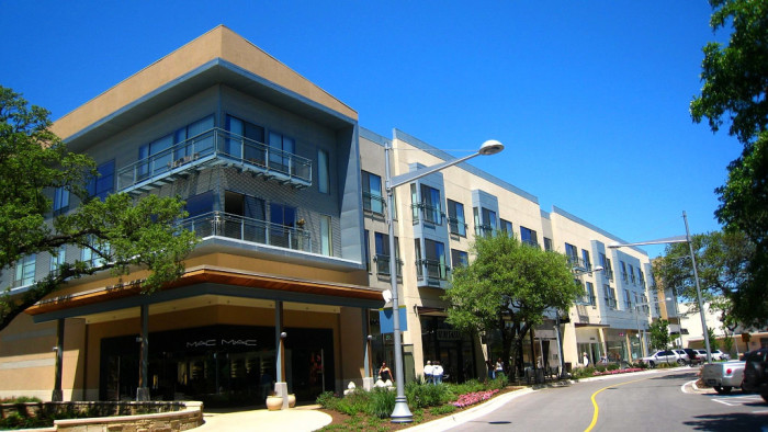2. The Domain of Austin is known for its outdoor shopping scene which grows more and more every year.