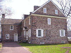 This is the house Washington is said to have stayed in with his troops. You can visit and take a tour.