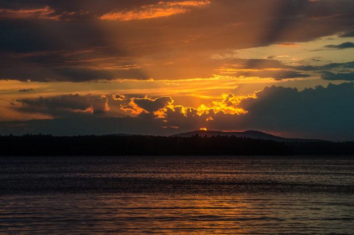 3. Sebago Lake, Various