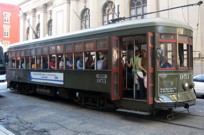 6. New Orleans Streetcar