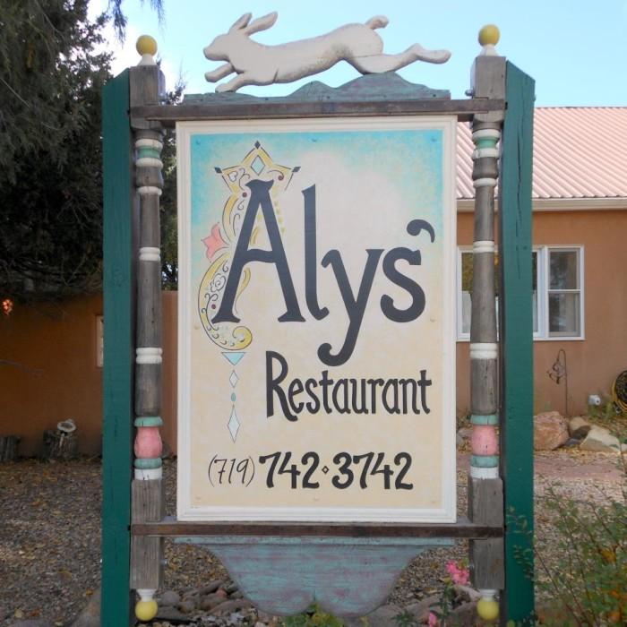 3. Aly's (La Veta)