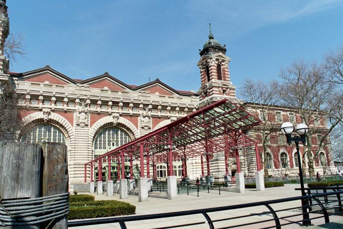 9. Ellis Island