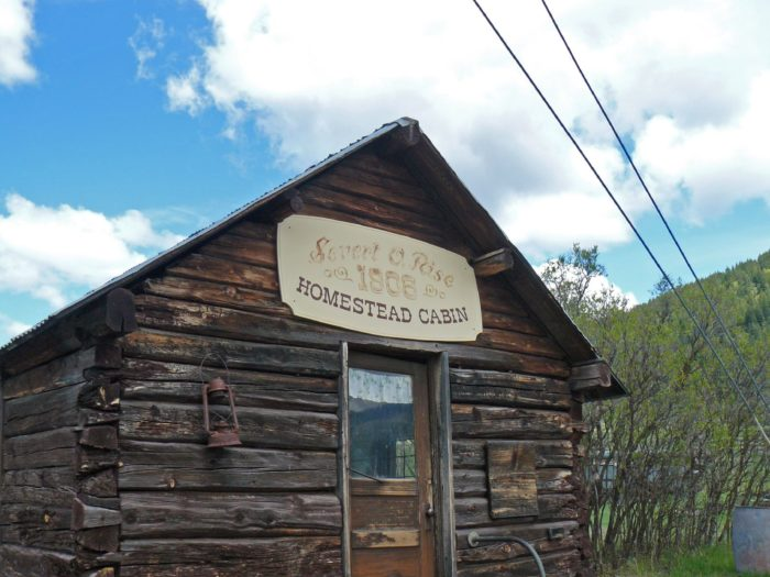 The homestead cabins: