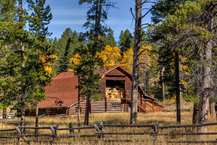 9. Barn in Shoshone National Forest