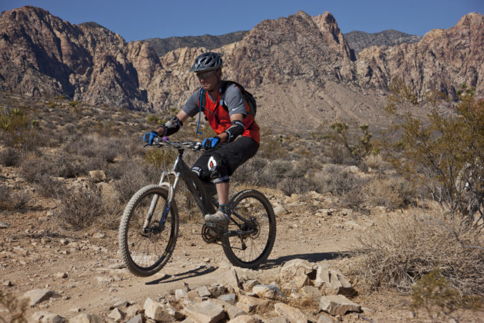 4. Spend an afternoon biking in Red Rock Canyon.