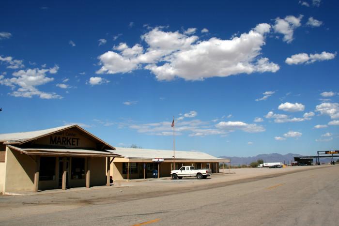 1. Desert Center - Population 204