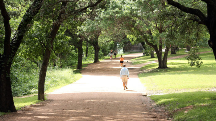 1. Ann and Roy Butler Trail wraps around Lady Bird Lake and is one of the most peaceful places to be right in the middle of the city.