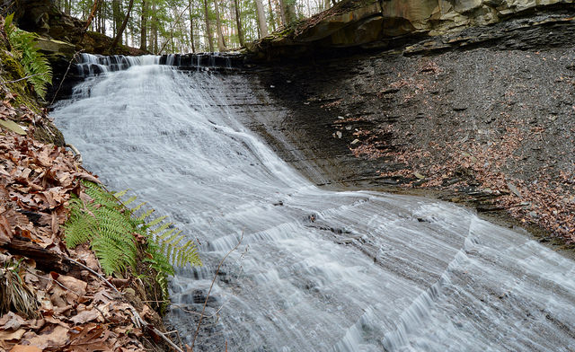 9. Greenwood Falls