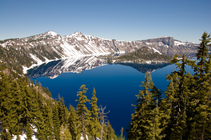 8. Not only is Crater Lake the deepest lake in the country, it's the third deepest in the world based on average depth.