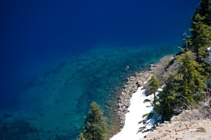 6. If you're wondering why the water is so insanely blue, it's because it's extremely pure.