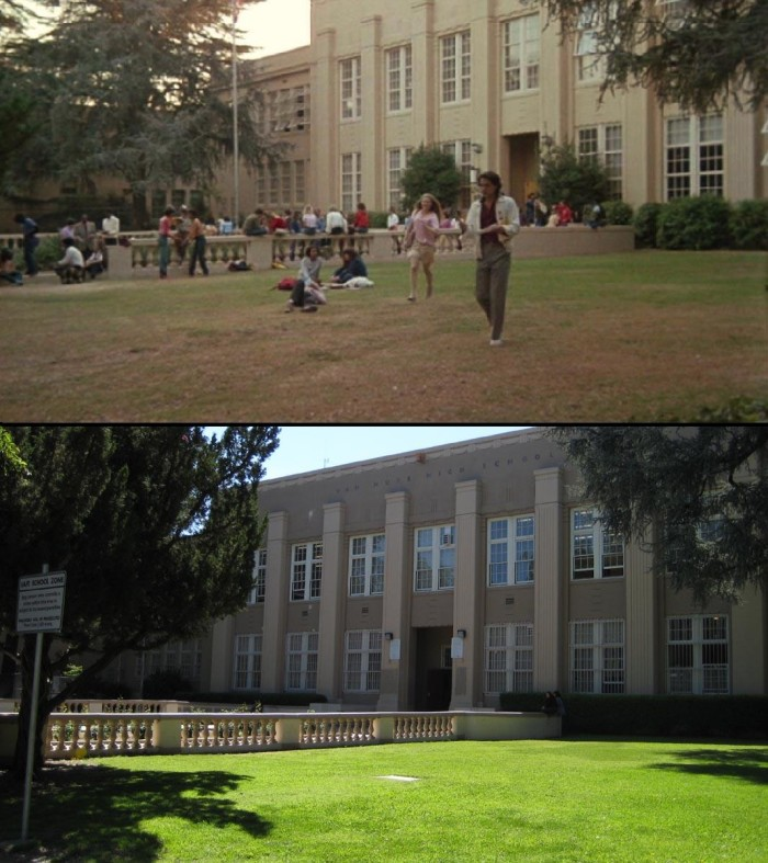 """7. Do you recognize this Southern California high school that was filmed in the movie """"Fast Times at Ridgemont High""""? If you guessed Van Nuys High School you would be correct."""
