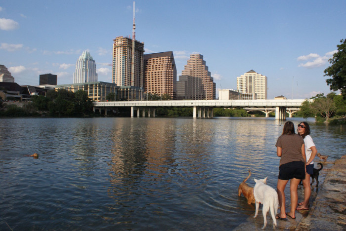 5. You should get familiar with Town Lake - A place where everyone in Austin goes for walks, talks, dogs, and a whole bunch of other fun things!