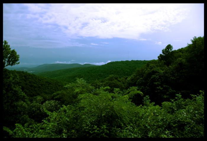5. Beautiful majestic mountains and...