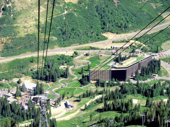 5. Visit a ski resort.