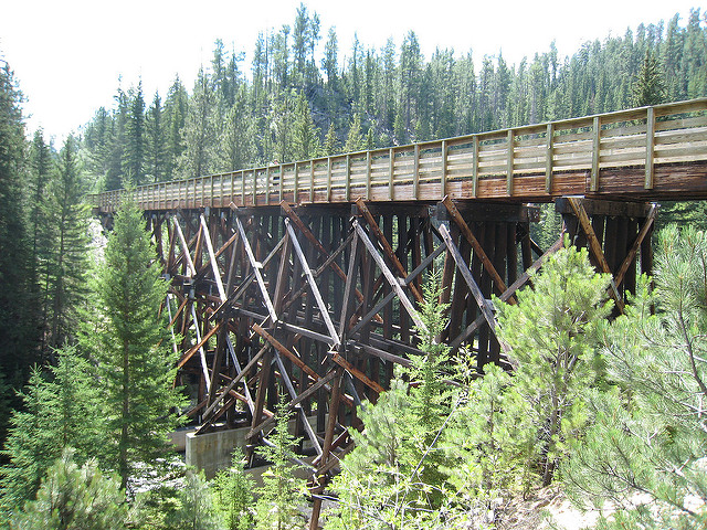 Amazing manmade creations, like this bridge, meet jaw-dropping nature views across the state.