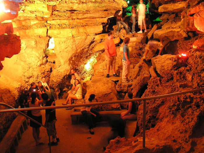 10. Wonder World Cave is the perfect spot to take the kids to explore, right up the road in San Marcos.