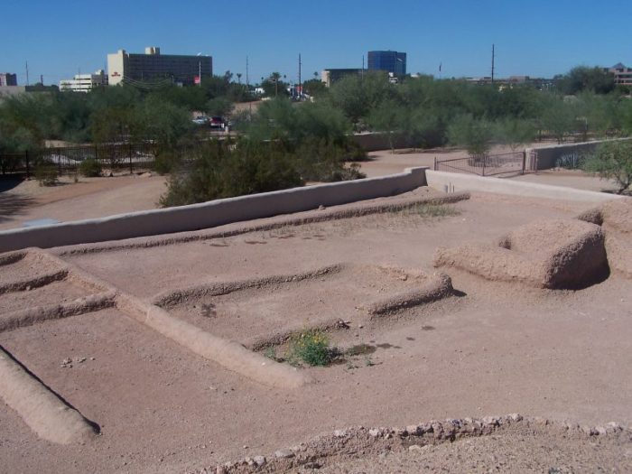 4. The Hohokam cremated their dead until about 1300 AD.