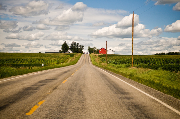 1. Driving the back roads