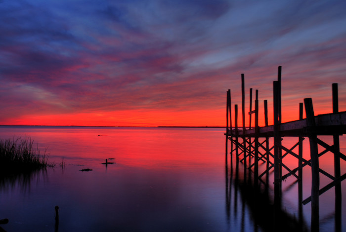3. Our breathtaking sunsets. (Long Beach Island)