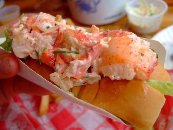 7. All we eat is clam chowder, lobster rolls, and fluff.