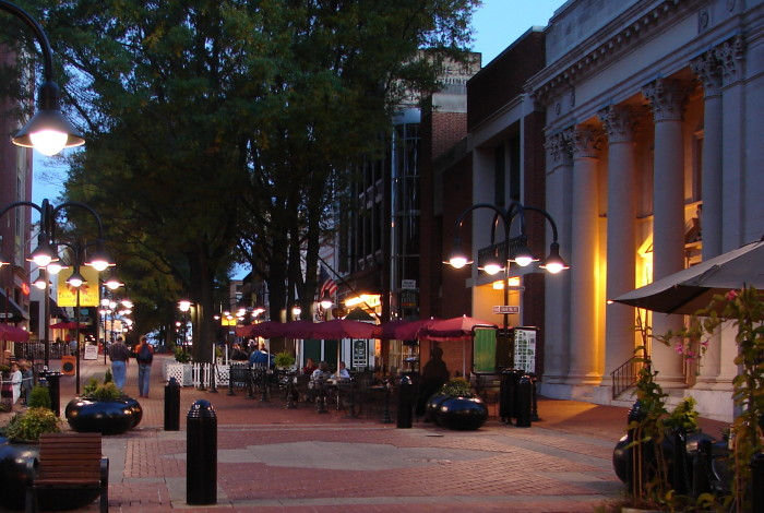 3. The downtown mall.
