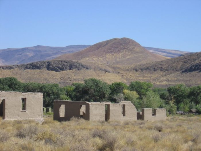 6. Fort Churchill State Historic Park