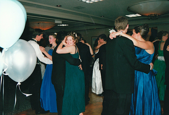 9. Your dances weren't held at the fanciest places. But you thought they were a big deal anyway.