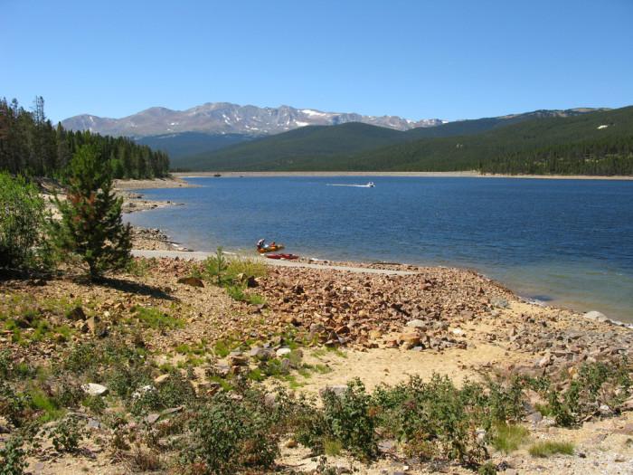 2. Turquoise Lake Recreation Area